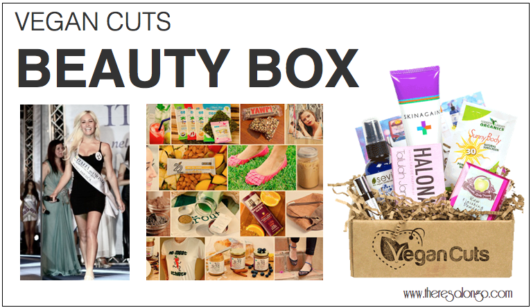 vegan cuts beauty box review theresa longo. Black Bedroom Furniture Sets. Home Design Ideas
